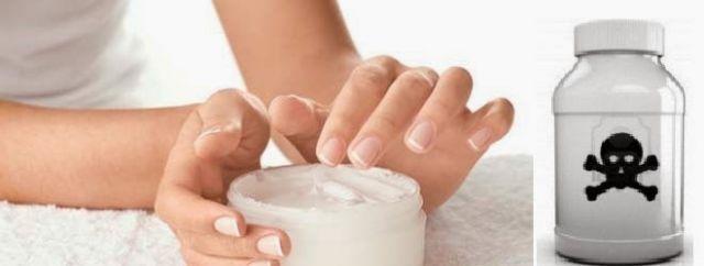 Cream yang mengandung zat kimia berbahaya tidak baik untuk kulit