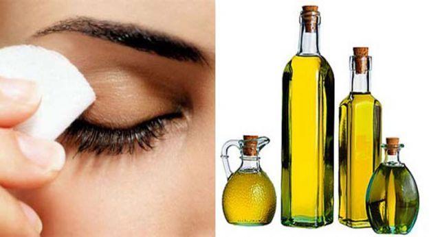 minyak zaitun atau minyak anggur baik digunakan untuk membersihkan make-up remover