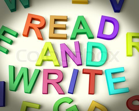 jangan pernah bosan. baca, tulis, baca, tulis, begitu terussss