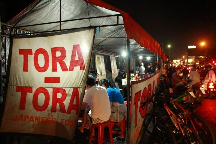 Tora-tora. Jwaban untuk masakan Jepang murah
