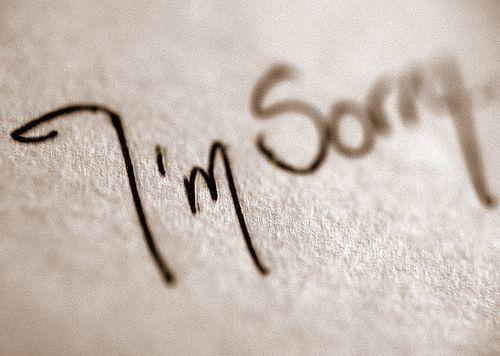 sebatas maaf