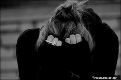 Saat menangis karenamu...