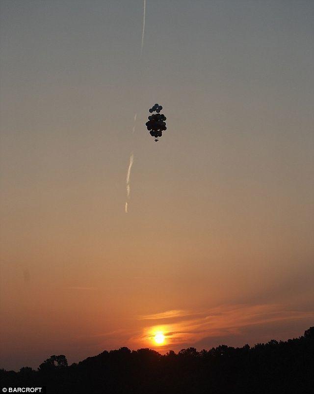 Balon helium bisa menggantikan porsi drone yang mahal harganya