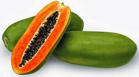 Papaya banyak ditemukan di pasar tradisional juga kok