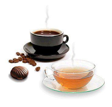 teh & kopi mengandung kafein