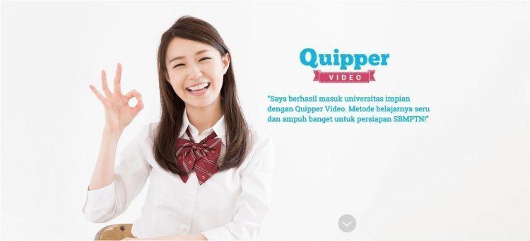 Quipper video. Bikin belaramu lebih gampang