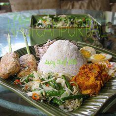 nasi campur Bali