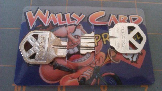 Debit card key holder
