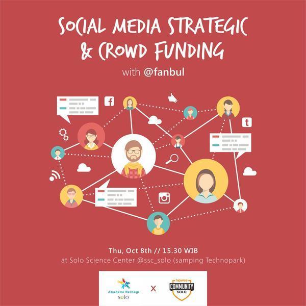 Kelas Akber108 Social Media Strategic and Crowd Funding