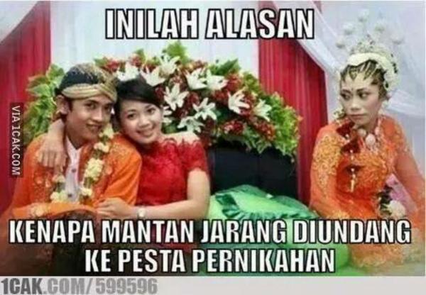 Orang nggak diundang ngapain datang