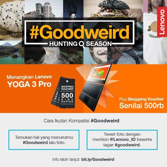 Cara ikutan kompetisi #Goodweird