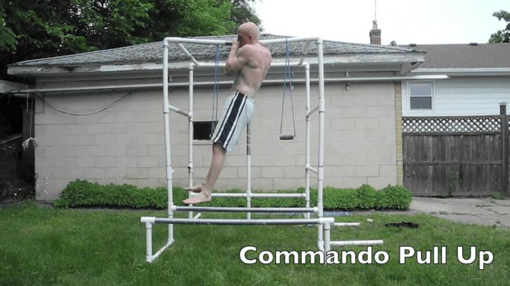 Commando pull ups
