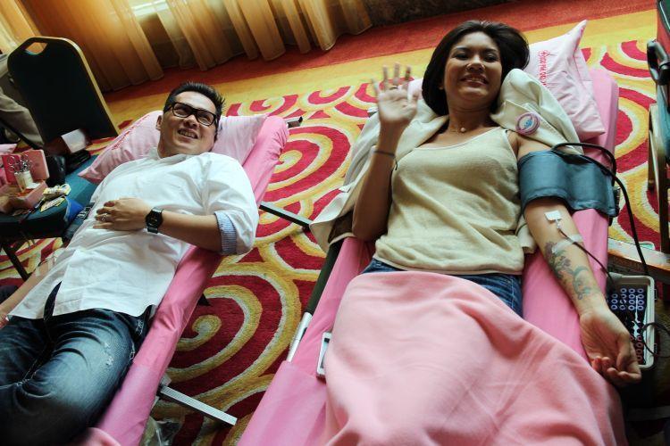 Donor darah bersama via http://www.merdeka.com/