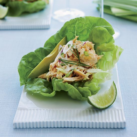 Wrapped up chicken salad