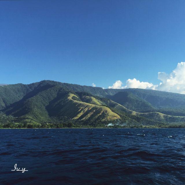 panorama yang boleh diharapkan selama berpesiar di lautan