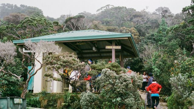 Mount Kinabalu Check Point
