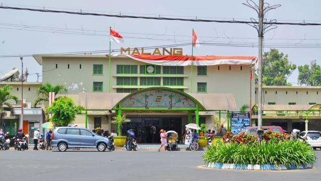 Ini lho stasiun Malang