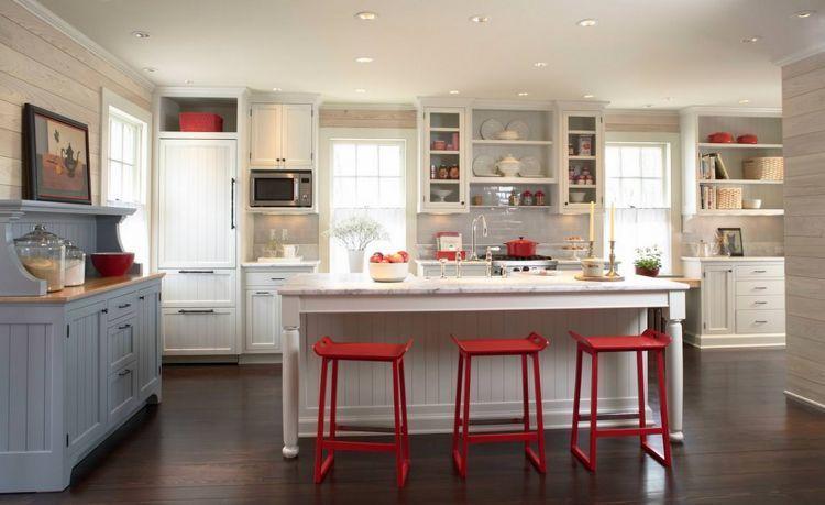 Warna merah di dapur