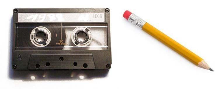 2 barang penyelamat kaset kusut