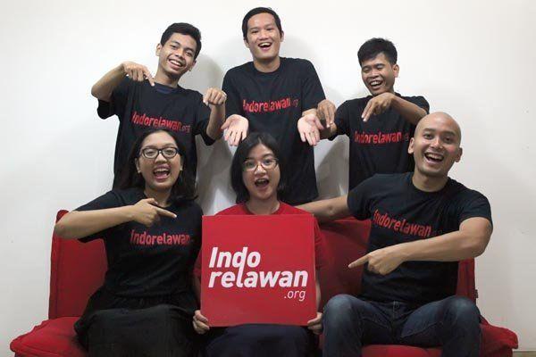 Indorelawan. Mochamad Salsabyl /Jawa Pos