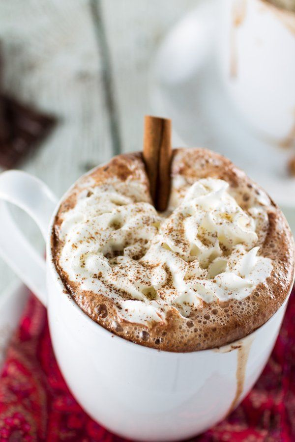Mexican Hot Chocolate yang foamy