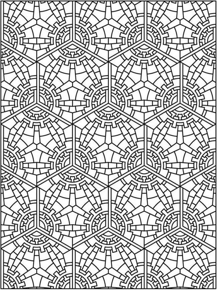 Sedikit abstrak adalah ciri dari Tessellation