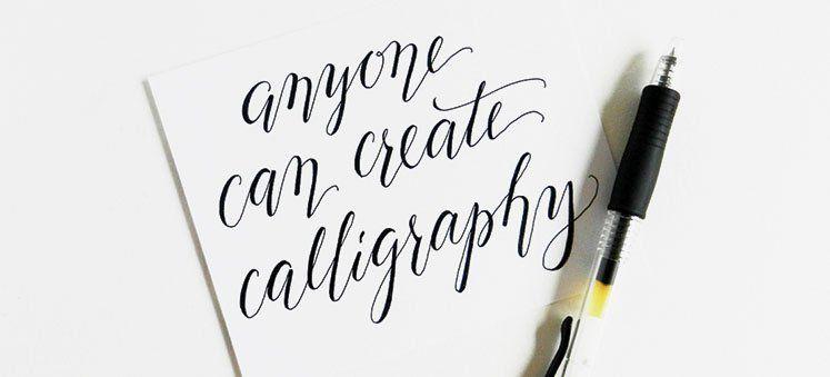 Kaligrafi untuk pemula