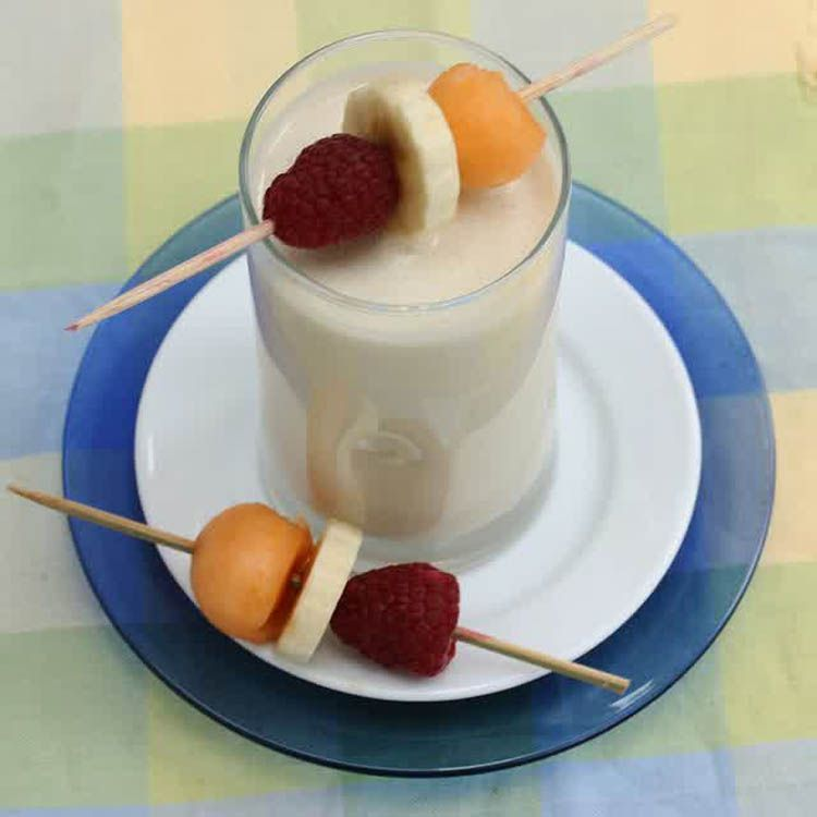 Banana oat smoothies, suplemen energi.