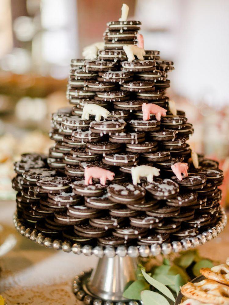 cookies wedding cake