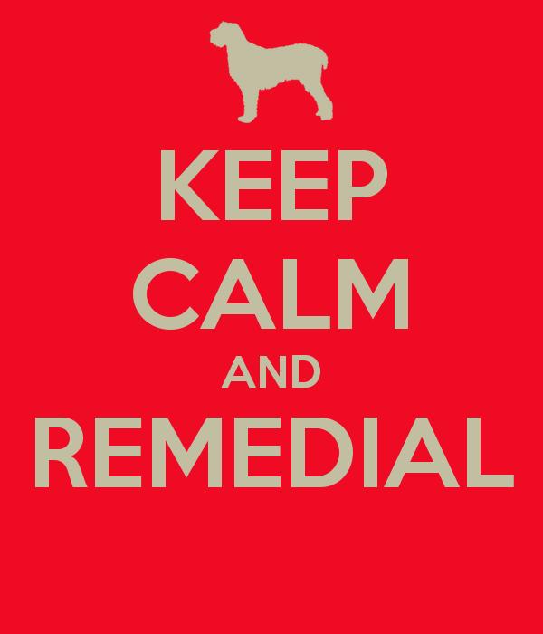 Remedial? Tenaaaangggg