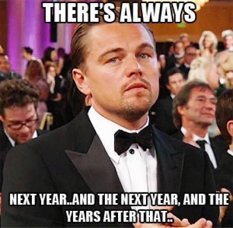 Sabar Leo, akting kamu akan selalu dapet Oscar di hati kita semua kok