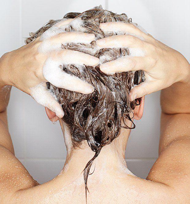 Mencuci rambut lebih bersih