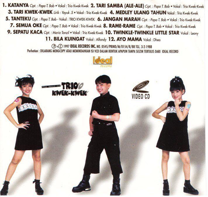 Trio kwek-kwek salah satu dari penyanyi cilik 90an