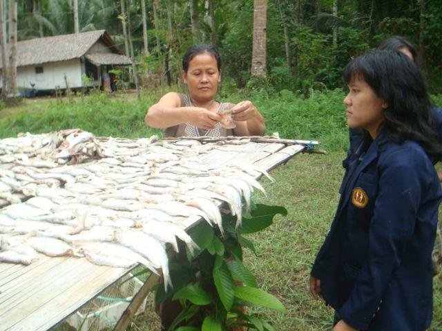 Pemilik Perikanan, Dusun Nusagede. KKN UNPAD