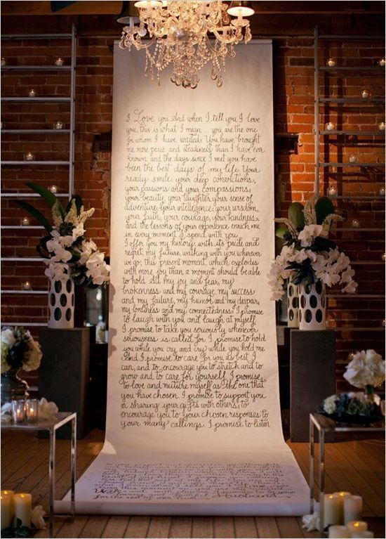 Parkamen dan wedding vow