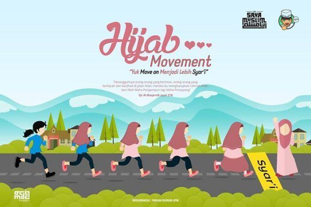 Hijab, juga bisa jadi pengontrol diri (khusus cewek loh ya)