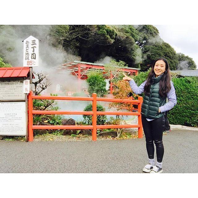 Beppu yang kota pelajar dan pensiunan terkenal dengan harga murahnya