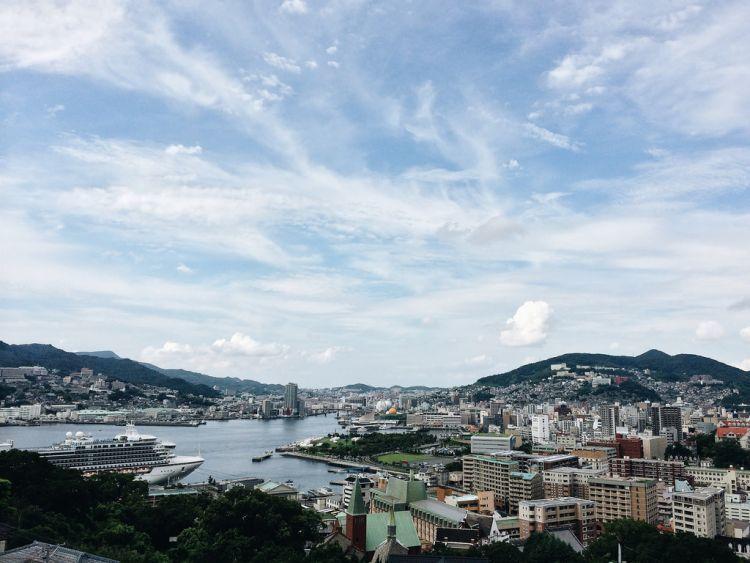 Perpaduan Eropa dan Asia ada di Nagasaki