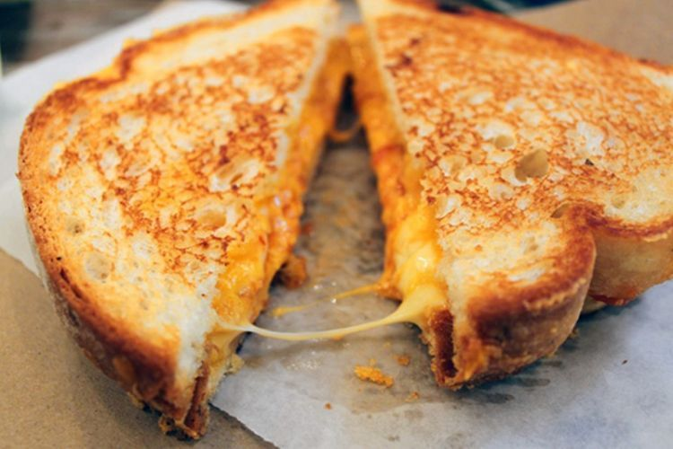 grilled cheese ala film chef