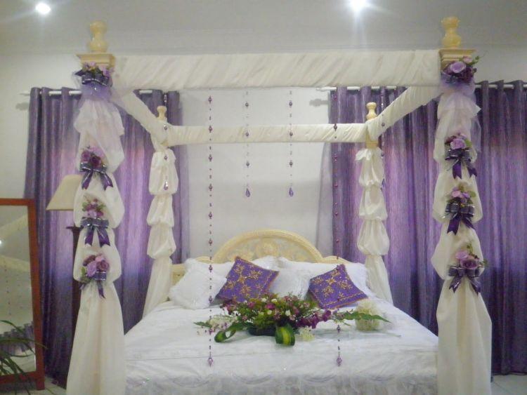 warna ungu bikin kamar pengantin makin cantik