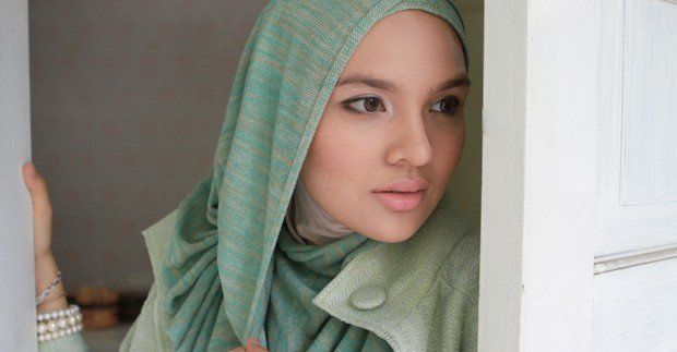 bahan kaos lebih baik untuk jilbab