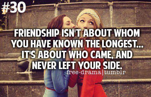 teman sejat tak akan pernah meninggalkanmu