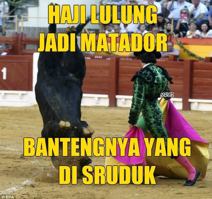 Siapapun akan kalah sama Haji Lulung