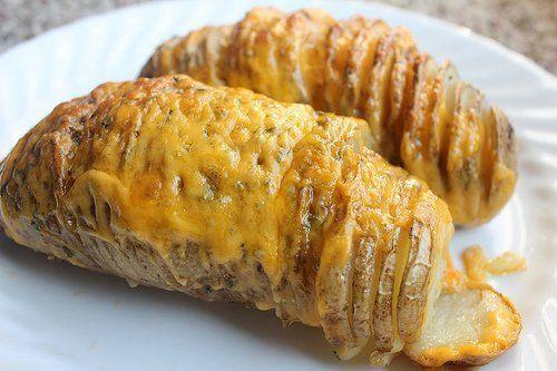 slice baked potato