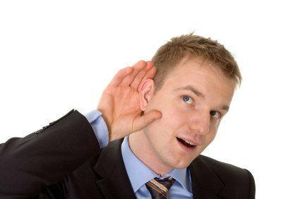 Be a good listener...