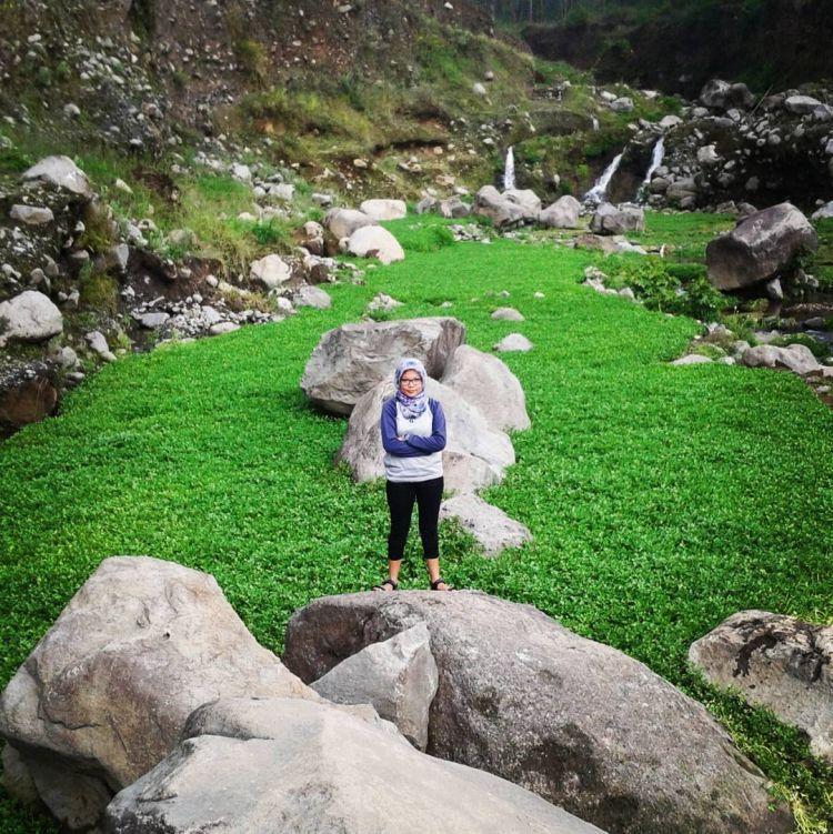Pemandangan Hijau Alam Bedengan. Credit to @cappudeecino