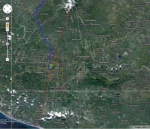 Google Map Jogja