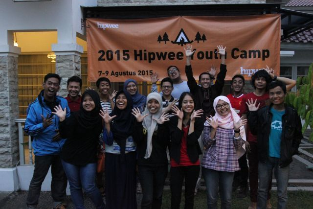 Hipwee Youth Camp 2015 bersama 10 pegiat komunitas