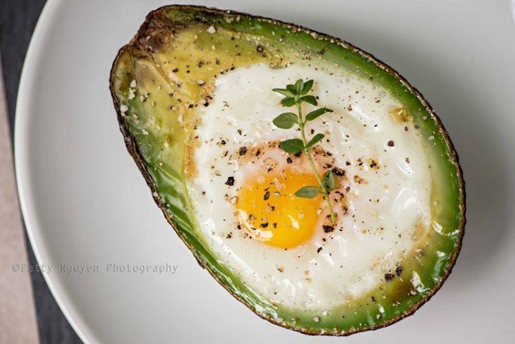 alpukat telur