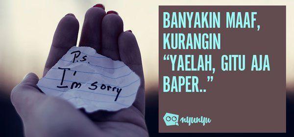 Banyakin maaf